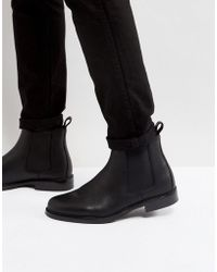 Polo Ralph Lauren - Normanton Chelsea Boots Leather In Black - Lyst