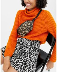 New Look - Bumbag In Leopard Print - Lyst