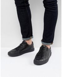Religion - Barney Trainers In Black - Lyst