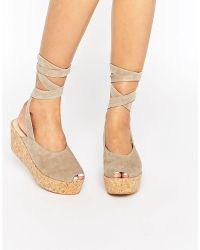 Warehouse - Wrap Around Flatforms - Lyst