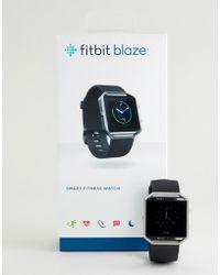 Fitbit - Blaze Smart Watch In Black - Lyst