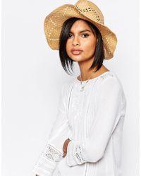 Vero Moda - Straw Hat - Multi - Lyst