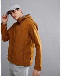 Jack Wolfskin - Amber Road Hooded Jacket In Dark Tan - Lyst