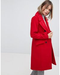 Oasis - Tailored Double Breatsed Coat - Lyst