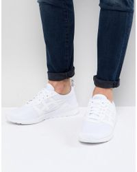 Asics - Gel Lyte Jogger Trainers In White H7g1n-0101 - Lyst