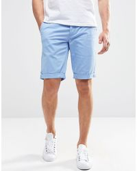 Minimum - Chino Shorts In Blue - Lyst