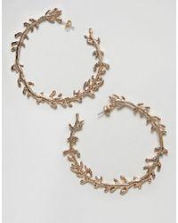 Nylon | Twig Hoop Earrings | Lyst