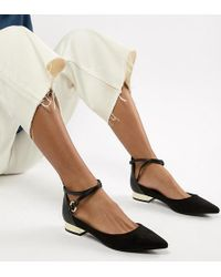 ALDO - Flat Point Shoe With Metal Heel - Lyst
