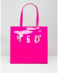 Ted Baker - Large Icon Bag In Harmony Floral - Lyst