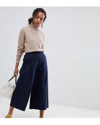 ASOS - Petite Basketball Trousers With Pleat Detail - Lyst
