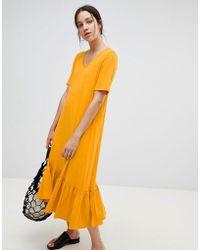 Kowtow - Building Block Midaxi Dress In Organic Cotton - Lyst