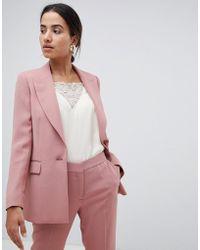 Reiss - Tailored Longline Jacket - Lyst