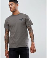 Abuze London - Abuze Ldn Mask Back Print T-shirt - Lyst