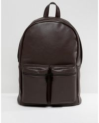 French Connection - Backpack In Brown - Lyst