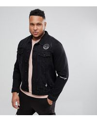 Only & Sons - Denim Jacket With Badge Details - Lyst