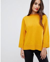 French Connection - Ebba Vahri High Neck Sweater - Lyst