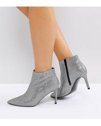 26ceefecab93 ASOS - Asos Emberly Wide Fit Pointed Ankle Boots - Lyst