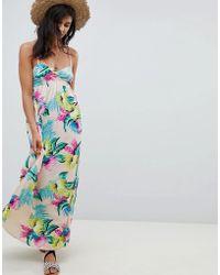 Rip Curl - Rip Curl Ophelia Maxi Beach Dress - Lyst