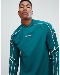 cf1832fd978 adidas Originals Eqt Goalie Top In Black Dh5141 in Black for Men - Lyst
