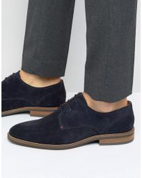 a844a2ee6a4218 Tommy Hilfiger - Daytona Suede Derby Shoes - Lyst