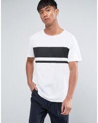 Dr. Denim - Russ Striped T-shirt - Lyst