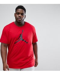 Nike - Nike Plus T-shirt With Large Logo In Red 908017-687 - Lyst
