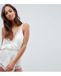 Wolf & Whistle - Scalloped Ivory Body - Lyst