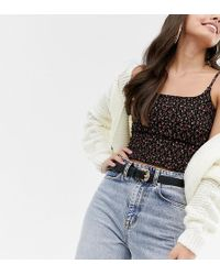 Accessorize - Marble Buckle Jeans Belt In Black - Lyst