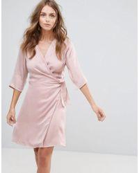 Minimum - Kimono Dress - Lyst