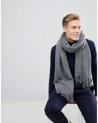 Esprit - Scarf In Grey With Soft Touch - Lyst