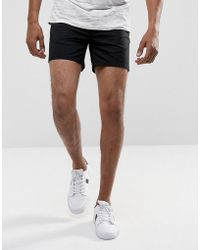 ASOS - Chino Shorts In Skinny Fit Shorter Length - Lyst