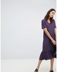 Kowtow - Building Block Organic Cotton Midaxi Dress - Lyst