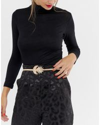 ASOS - Moon And Star Buckle Chain Belt - Lyst