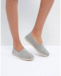 38962402852 TOMS Yellow Lemons Espadrille Flat Shoes in Yellow - Lyst
