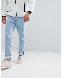 Cheap Monday - Audiac Tapered Jeans Anti Blue - Lyst