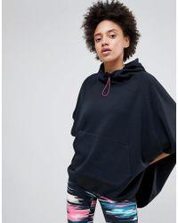 Esprit - Hooded Cape Gym Sweatshirt - Lyst