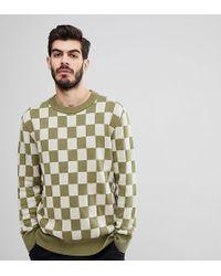 Nudie Jeans - Co Elof Checkerboard Jumper - Lyst