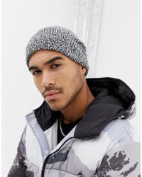 725d921abb9 Lyst - ASOS Fisherman Beanie Hat In Camel Twist in Brown for Men