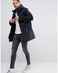 Nike - Tech Shield Hooded Jacket In Black 886162-010 - Lyst