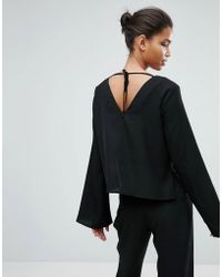 Minimum - Moves Enny Flared Sleeve Blouse - Lyst
