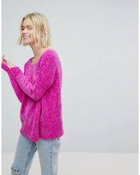 Hollister - Chenielle Oversize Knit Sweater - Lyst