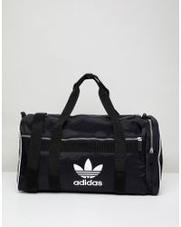 adidas Originals - Adicolor Duffle Bag In Black Cw0618 - Lyst