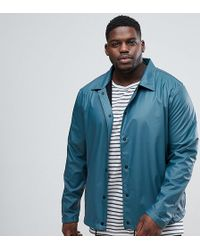 Another Influence - Plus Waterproof Contrast Sleeve Jacket - Lyst