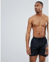 Nicce London - Nicce Swim Shorts In Black - Lyst
