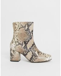 Free People - Cecile Ankle Boot - Lyst