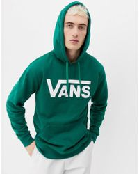 a19a6dc01f Vans Classic Pullover Hoodie In Yellow V00j8n2mr in Yellow for Men ...