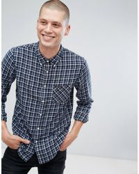Lee Jeans - Jeans Button Down Check Shirt - Lyst