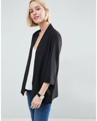ASOS | Soft Chuck On Blazer | Lyst