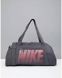 Nike - Nike Gym Club Training Duffel Bag In Grey - Lyst