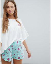 Chelsea Peers - Bunny Short Pyjamas - Lyst